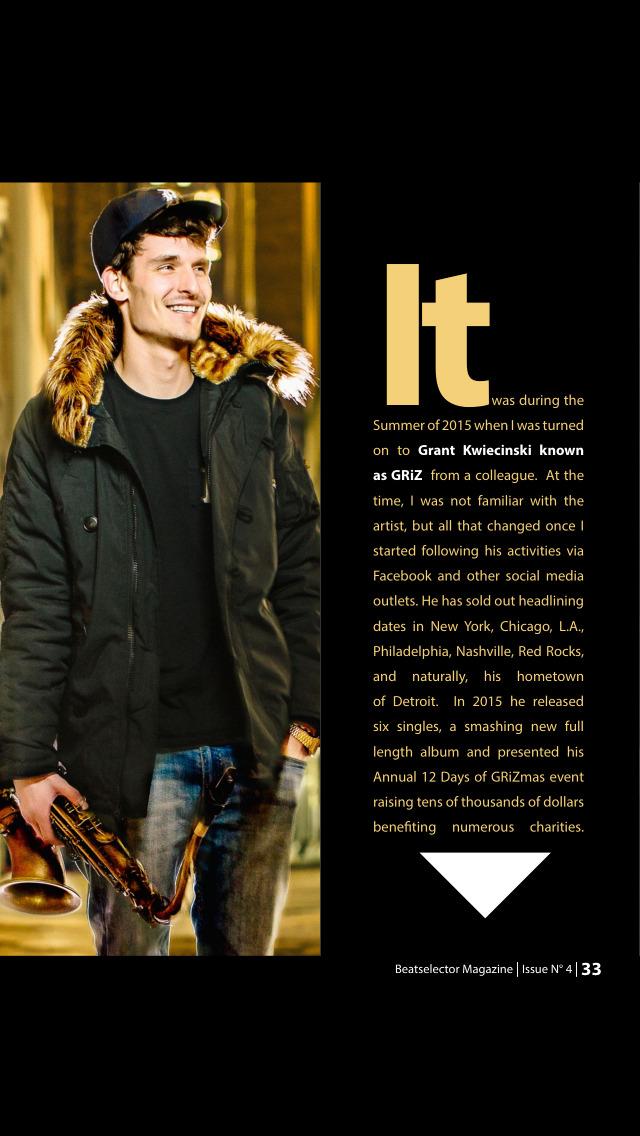 BEATSELECTOR Magazine screenshot 2