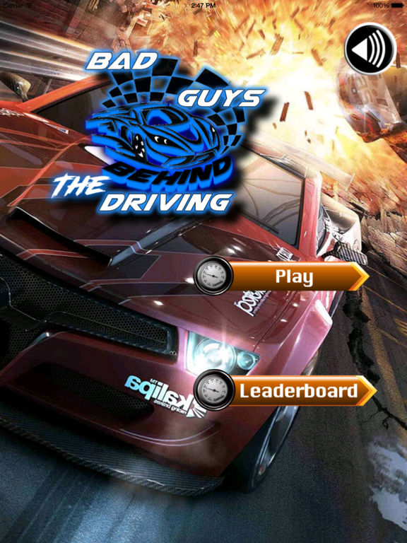 Bad Guys Behind The Driving Pro - Amazing Car Race Game screenshot 6