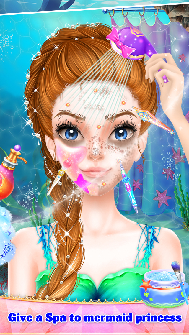 Mermaid Princess Spa & Dressup screenshot 2