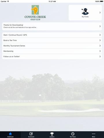 Coyote Creek Golf Club screenshot 7