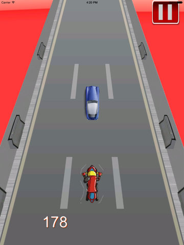 A Moto Bike Race - Clash of Ninja Temple Racing Chase screenshot 9