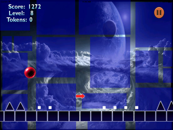 A Meltdown Ball Pro - Amazing Breaking In Geometry Game screenshot 7