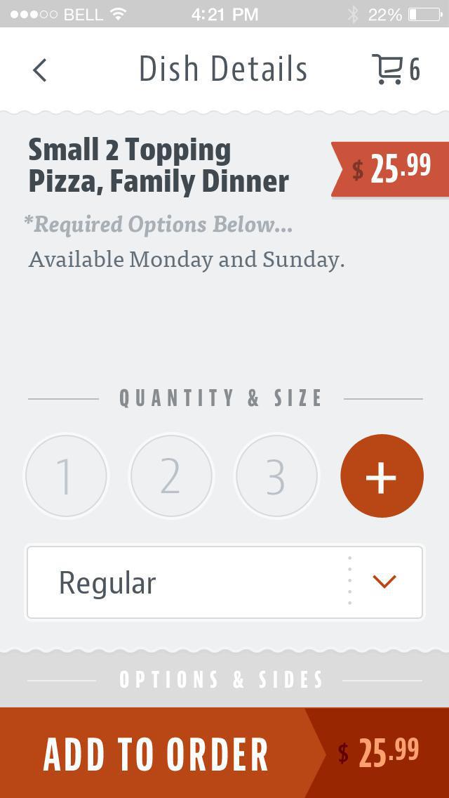So Cal Pizza screenshot 4