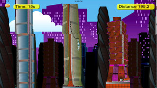 Steel Swing - City Rope Swing screenshot 5
