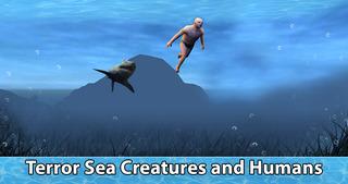 Sea Shark Survival Simulator 3D Full screenshot 3