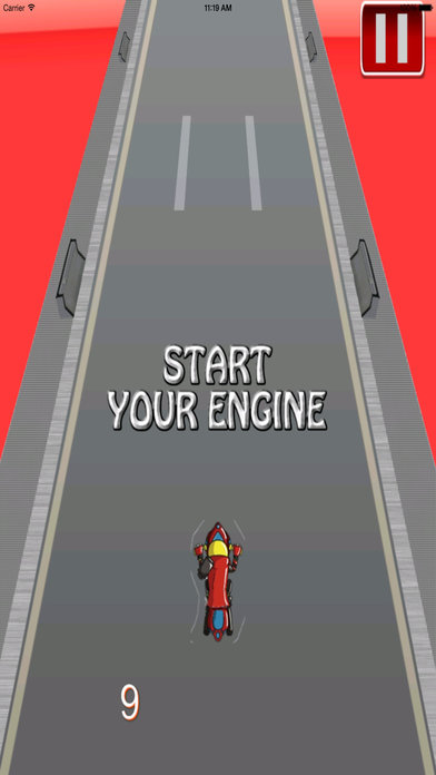 A Motorcycle In Extreme Flames - Fast Game screenshot 2