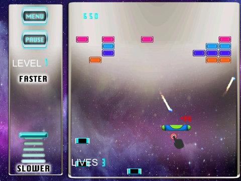 Brick Swipe Swing - The Space School Old screenshot 8