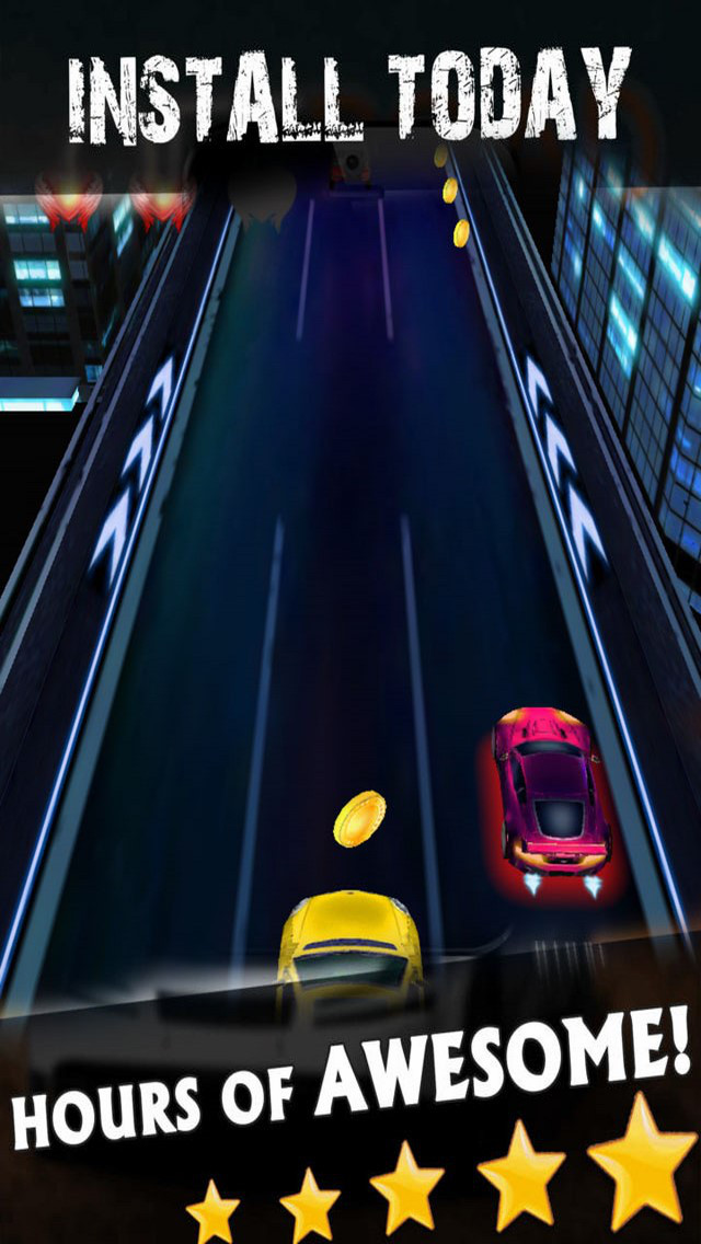 Racing Speed: Night Fast Car screenshot 1