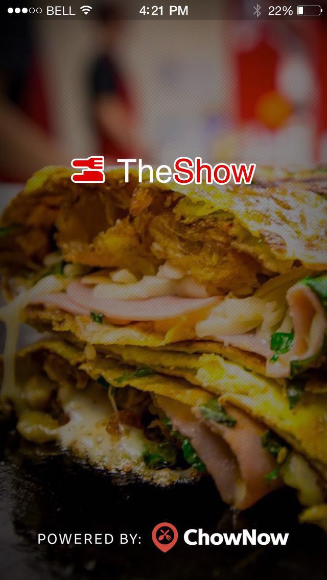 The Show To Go screenshot 1
