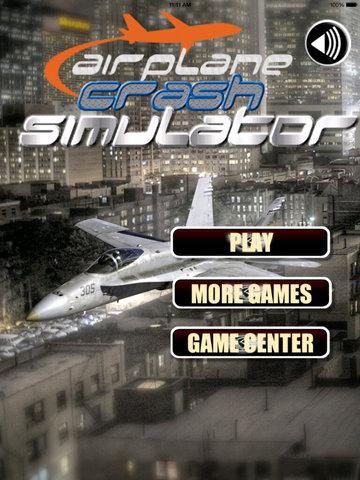 Airplane Crash Simulator PRO - Fast Driver Amazing screenshot 6