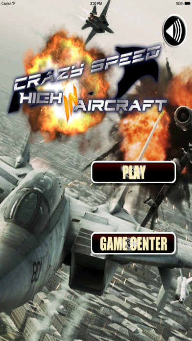 Crazy Speed High In Aircraft Pro - Airplane Game screenshot 1