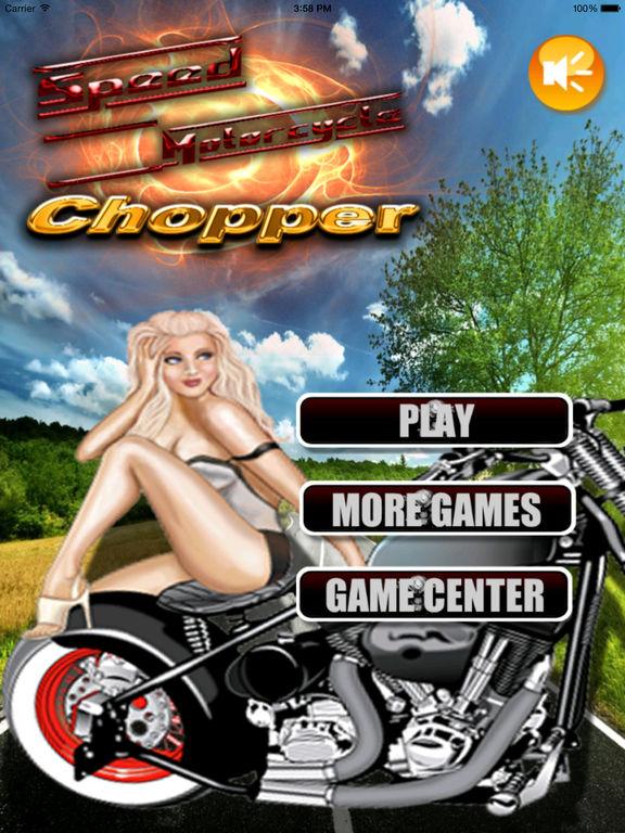A Speed Motorcycle Chopper - Awesome Real Race screenshot 6