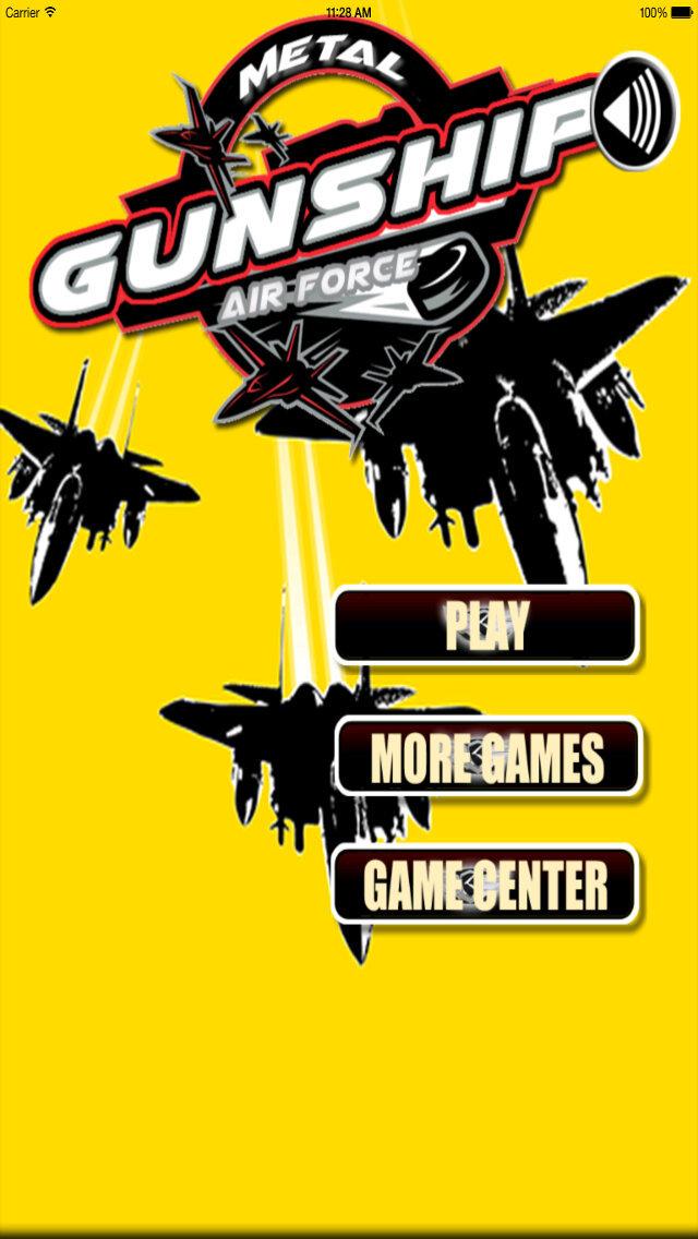 Metal Gunship Air Force - Mysticism Attack Battle Fighters screenshot 1