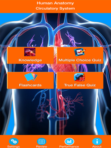 Anatomy : Circulatory System screenshot 6