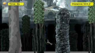 Amazing Fly Rope Robot Pro - Revenge Cyber War Lords screenshot 2
