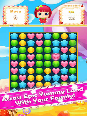 Jelly Star: Match Fun screenshot 4