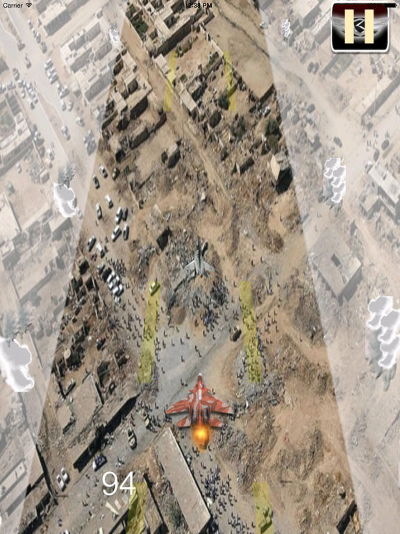 A Driving Fast Of F 22 Pro - Amazing Air War Game screenshot 8