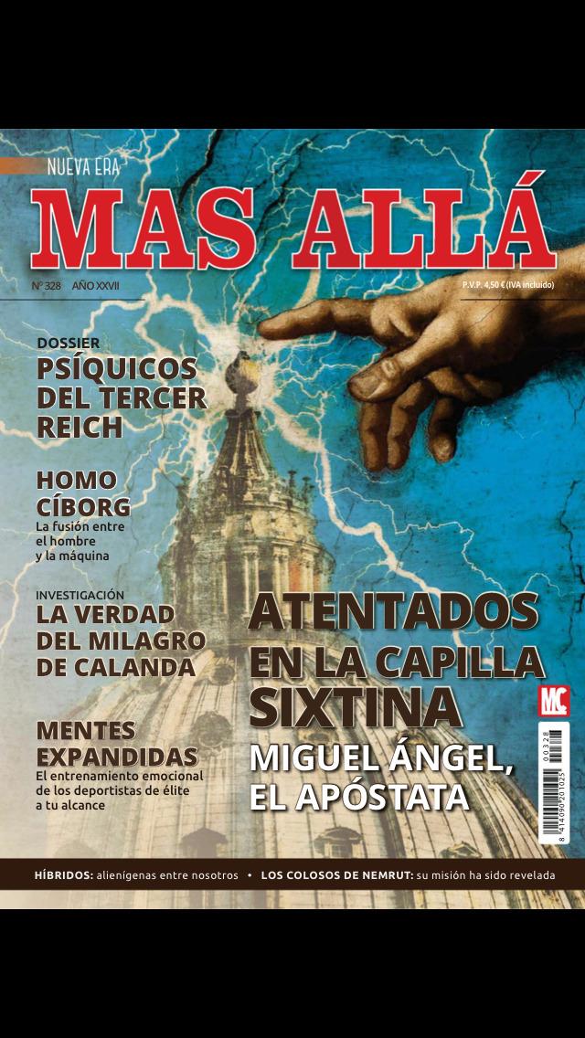 Nueva Mas Allá Revista screenshot 1
