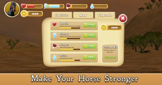 Wild African Horse: Animal Simulator 2017 screenshot 4