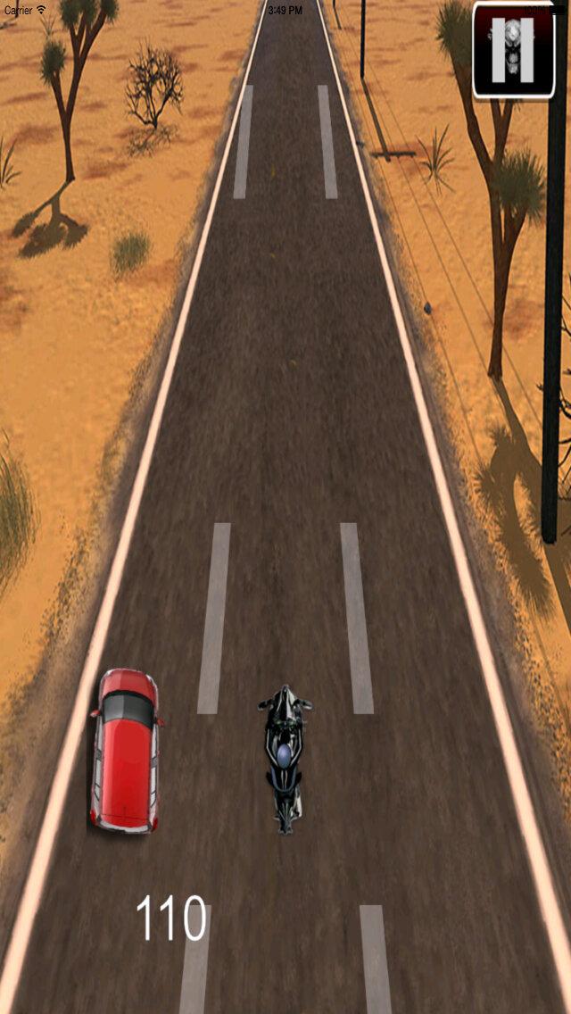 A Hallucinatory Speed Biker Pro - Amazing Real Bike Race screenshot 5