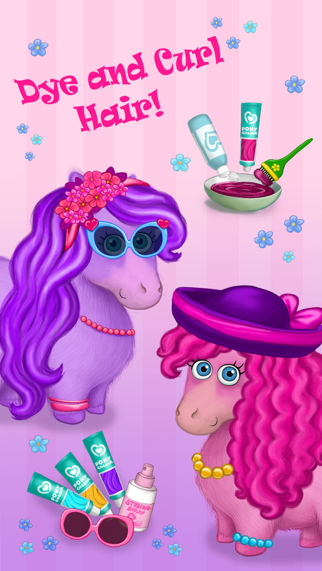 Pony Sisters in Hair Salon - No Ads screenshot 2