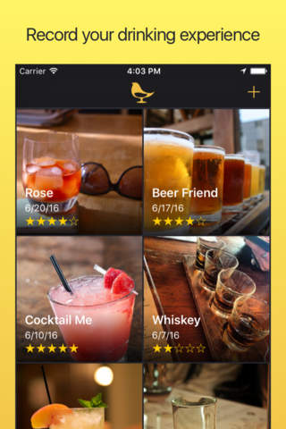 Chidori : Record your drinking experience - náhled