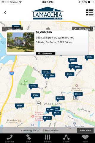 Lamacchia Real Estate App - náhled
