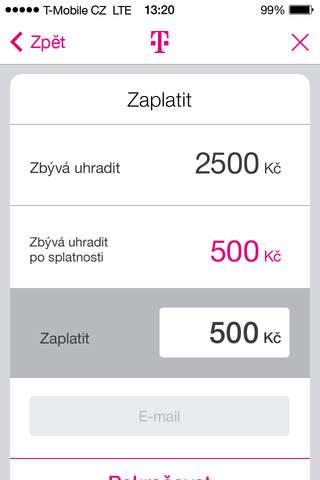 Můj T-Mobile - náhled
