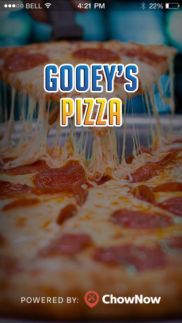 Gooey's Pizza To Go screenshot 1