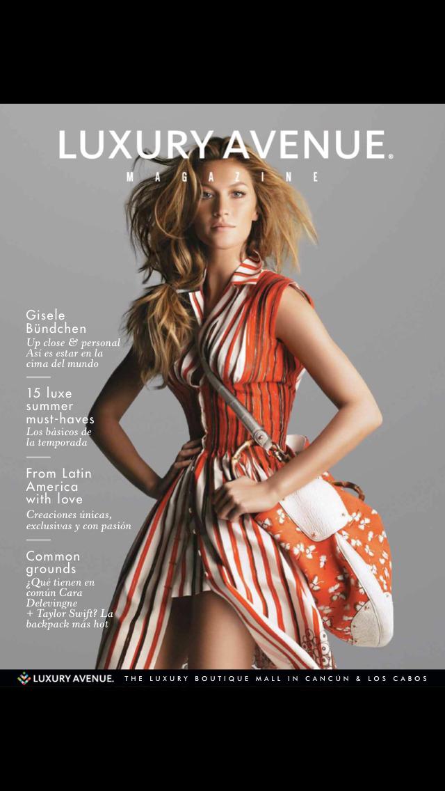 Luxury Avenue(Magazine) screenshot 1