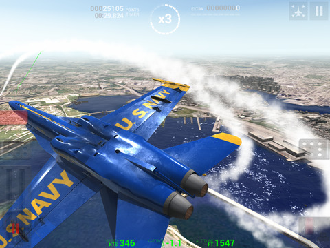 Blue Angels: Aerobatic Flight Simulator screenshot 6