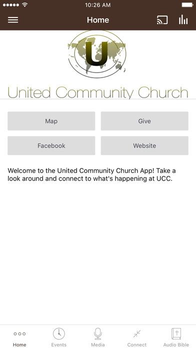 United Community Church screenshot 1