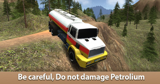 Oil Truck Simulator 3D Full - Offroad tank truck driving screenshot 1