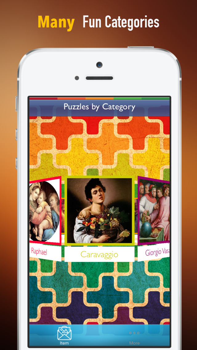 Memorize Famous Renaissance Art by Sliding Tiles Puzzle: Learning Becomes Fun screenshot 1