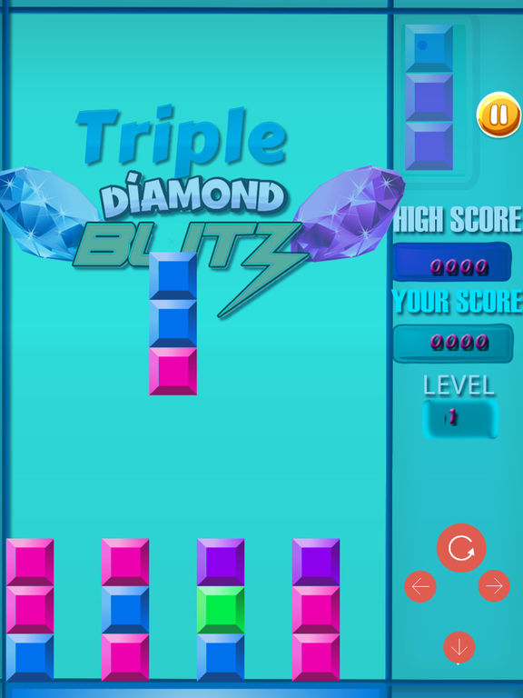 Triple Diamond Blitz PRO - Match 3 Puzzle screenshot 8