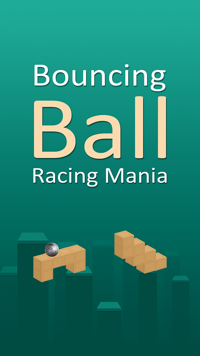 Bouncing Ball Racing Mania Pro - best speed block jumping game screenshot 2