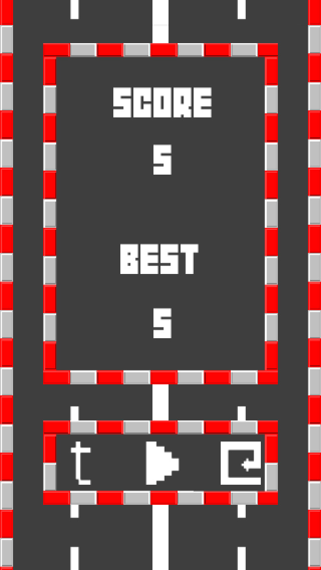 Epic Driver - Flappy Lane screenshot 5