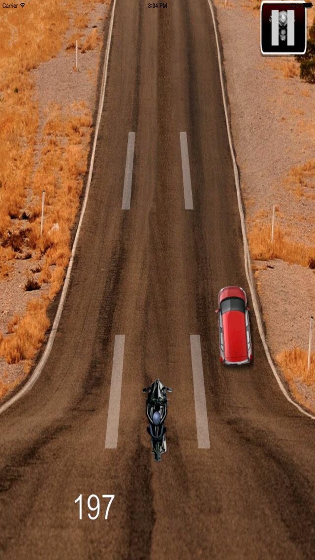 A Hallucinatory Speed Biker - Amazing Real Bike Race screenshot 5