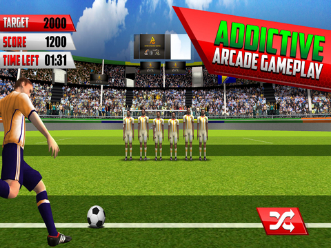 Final Soccer Flick : Free Penalty Kick screenshot 5