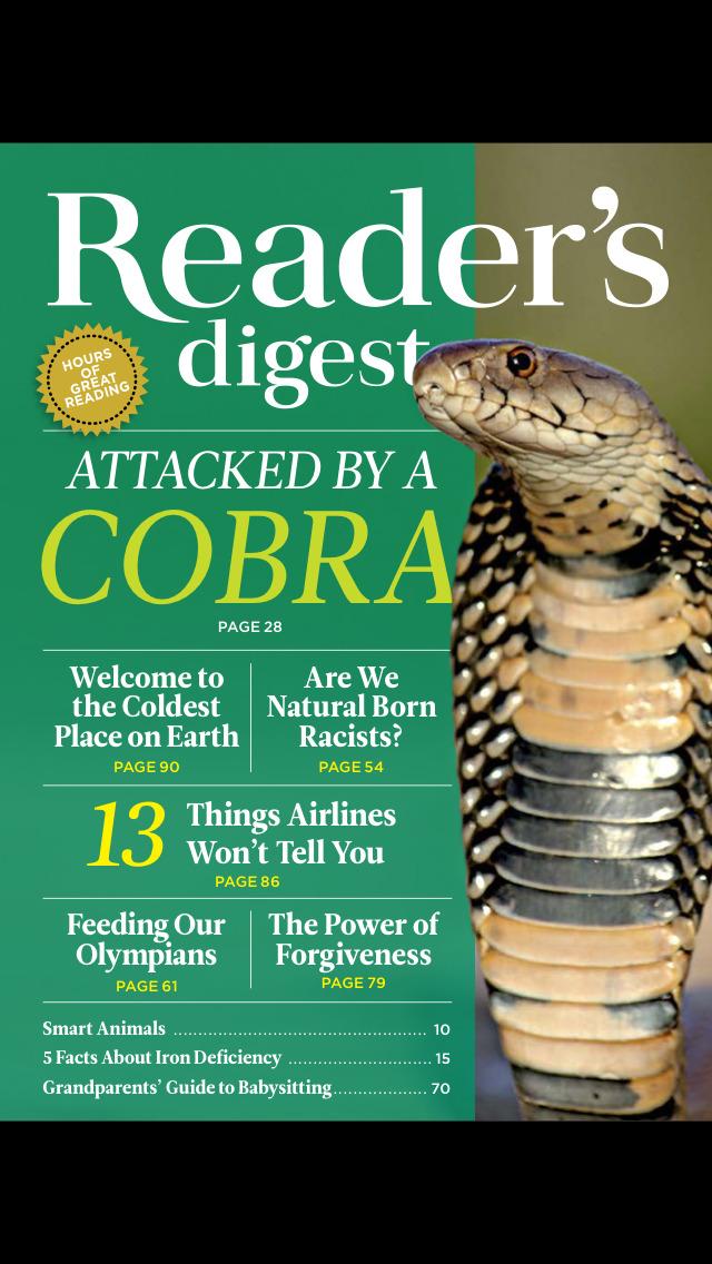 Reader's Digest International screenshot 1