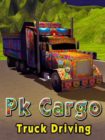 PK Cargo Truck Driving Simulator screenshot 5