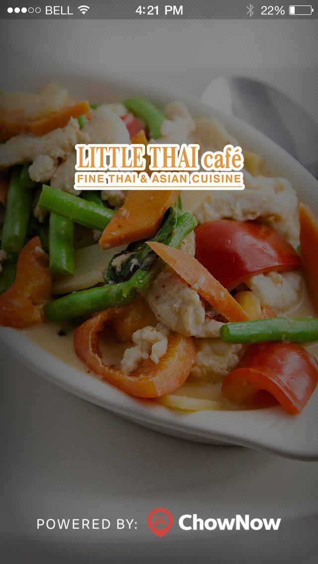 Little Thai Cafe screenshot 1