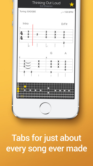 Guitar learn guitar tabs : Tab Pro: learn, hear & play multitrack guitar tabs on the App Store