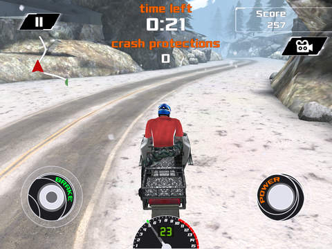 Arctic Snowmobile Racing - 3D eXtreme Winter Ice Trails Driving Edition Free screenshot 7