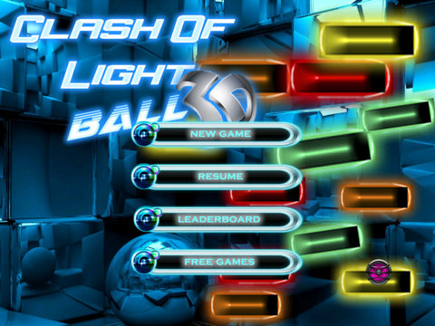 Clash Of Light Ball 3D - Classic Amazing Brick Game screenshot 6
