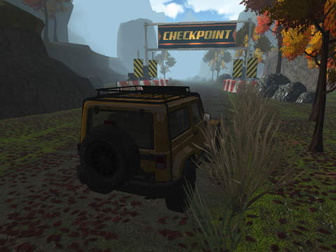 3D 4x4 Off-Road Truck Racing - Extreme Trials Driving Simulator FREE screenshot 9