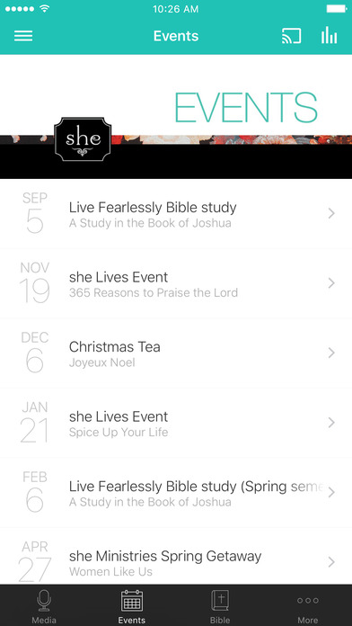she Ministries screenshot 2