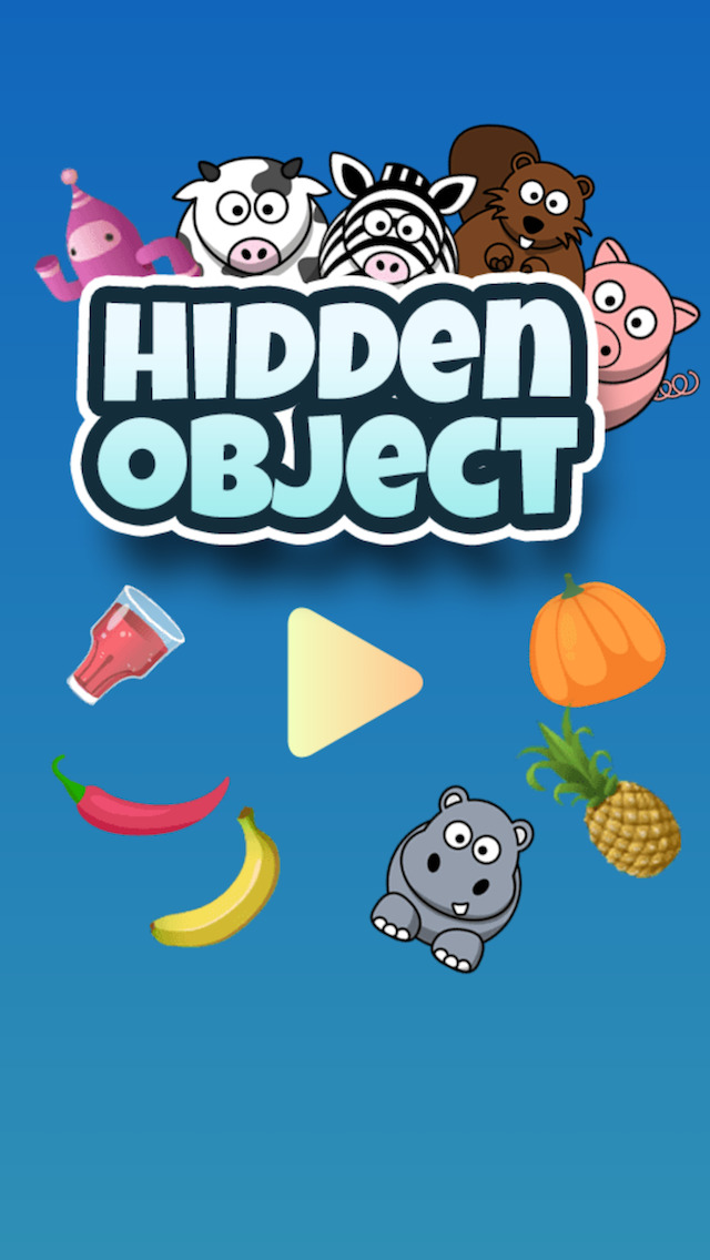 Hidden Objects for Kids (ad free) screenshot 1