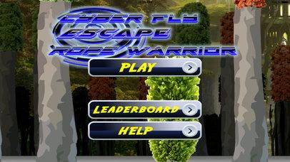 Cyber Fly Escape Rope Warrior Pro - Kingdom Secret Flying screenshot 1