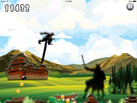 Amazing Samurai Jumper - Forest Heroes Adventure screenshot 7